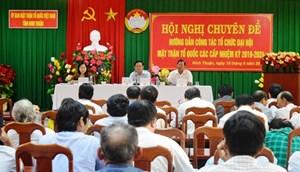 Cao Lãnh (Đồng Tháp): Tháng 4/2019 tổ chức Đại hội MTTQ cấp huyện