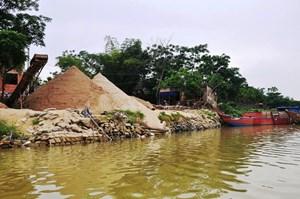 Chấn chỉnh tình trạng khai thác cát trái phép