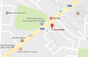 Cháy 7 kiốt trong chợ và một quán càphê tại thành phố Biên Hòa
