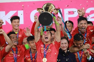 Chiến tích của bóng đá Việt Nam được vinh danh là sự kiện thể thao tiêu biểu năm 2018