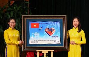 Chính thức phát hành bộ tem chào mừng Hội nghị Thượng đỉnh Mỹ-Triều