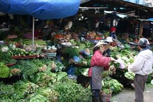 Chợ trong phố