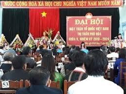 Chư Pah (Gia Lai): Đại hội điểm Mặt trận Tổ quốc cấp huyện