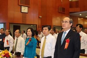 Chủ tịch UBTƯMTTQ VN Nguyễn Thiện Nhân tham dự Hội nghị biểu dương người tốt, việc tốt trong đồng bào Công giáo