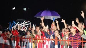 Cổ động viên Quảng Nam ăn mừng ĐT Việt Nam vô dịch AFF Cup 2018