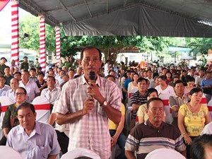 Công an quận Ninh Kiều lắng nghe ý kiến nhân dân