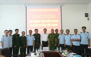 Đà Nẵng: Khen thưởng lực lượng phát hiện 10 tấn ngà voi nhập lậu