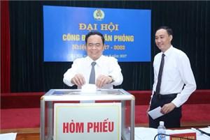 Đại hội Công đoàn Văn phòng cơ quan UBTƯ MTTQ Việt Nam