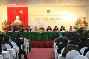 Đại hội đại biểu Toàn quốc Liên hiệp các Hội VHNT Việt Nam khóa IX