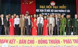 Đại hội điểm Mặt trận phường Kỳ Liên thành công tốt đẹp
