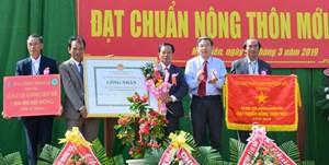 Đắk Lắk: Xã Hòa Tiến đạt chuẩn nông thôn mới
