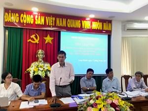 Đoàn Giám sát Mặt trận Trung ương làm việc tại Đồng Nai