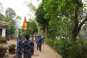 Đoàn viên Cảnh sát biển 'thắp sáng đường quê' Núi Thành, Quảng Nam