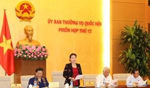Dự kiến chương trìnhphiên họp thứ 32 của Ủy ban Thường vụ Quốc hội