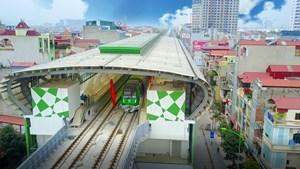 Đường sắt đô thị đầu tiên tại Hà Nội chạy thử toàn tuyến vào 20/9