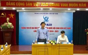 Gần 700 đại biểu tham dự Đại hội Hội Sinh viên Việt Nam lần thứ X
