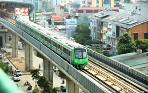 Giá vé tuyến đường sắt đô thị Cát Linh - Hà Đông 30.000 đồng/ngày