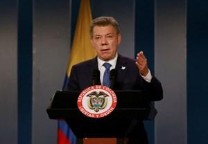 Giải Nobel Hòa bình được trao cho Tổng thống Colombia