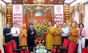 Giáo hội Phật giáo Việt Nam tích cực hưởng ứng Đại hội MTTQ các cấp