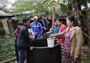 Giếng nước ở Đà Nẵng bỗng dưng tăng nhiệt, bốc khói