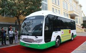Hải Phòng thử nghiệm xe buýt năng lượng mặt trời