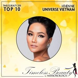 H'Hen Niê dẫn đầu Top 10 người đẹp nhất hành tinh năm 2018