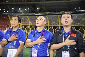 HLV Park Hang Seo được vinh danh trước chung kết lượt về AFF Cup