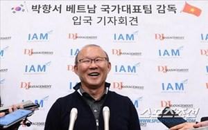 HLV Park Hang-seo trải lòng với báo giới về một sự khởi đầu tốt đẹp