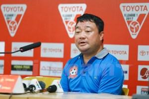 HLV Trương Việt Hoàng: Chính cổ động viên đã làm Hải Phòng thua trận