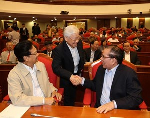 Hội nghị gặp mặt cán bộ lãnh đạo cấp cao nghỉ hưu