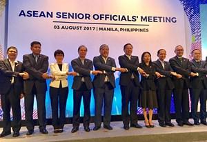 Họp SOM ASEAN và các đối tác trù bị cho Hội nghị Ngoại trưởng ASEAN lần thứ 50