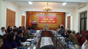 Hướng tới Đại hội MTTQ Việt Nam các cấp, nhiệm kỳ 2019-2024: Điểm sáng từ Mặt trận Tây Hồ
