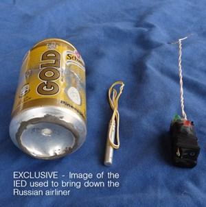 IS khoe thiết bị nổ khiến máy bay Nga bị rơi