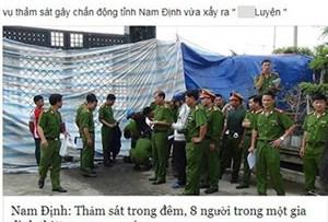 Kẻ tung tin 'thảm án 8 người chết ở Nam Định' khai gì?