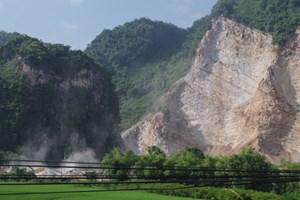 Khai thác mỏ đá ở Lạng Sơn: Quá nhiều sai phạm