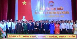 Khánh Hòa: Tổ chức thành công Đại hội MTTQ Việt Nam thị xã Ninh Hòa