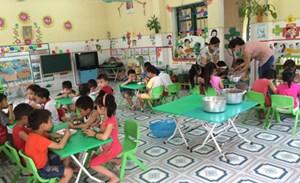 Kiểm tra an toàn vệ sinh thực phẩm tại các trường mầm non