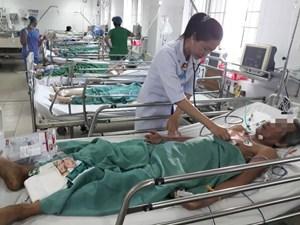 Kịp thời cứu sống bệnh nhân ngưng tim, ngưng thở trước khi nhập viện
