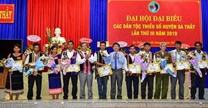 Kon Tum: Đại hội đại biểu các DTTS huyện Sa Thầy lần thứ III