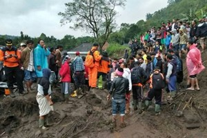 Lở đất ở Bali, 12 người thiệt mạng