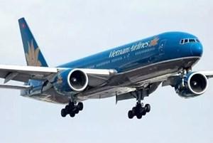 Chim trời đâm hỏng động cơ máy bay Vietnam Airlines