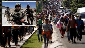 Mỹ điều quân đội đến biên giới Mexico giữa 'cơn bão' di cư
