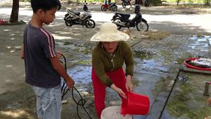 Người Đà Nẵng thiếu nước sinh hoạt