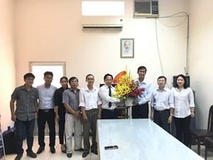 Nhiều cơ quan, đơn vị tại TP Hồ Chí Minh thăm, chúc mừng báo Đại Đoàn Kết
