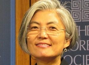 Nữ Ngoại trưởng đầu tiên của Hàn Quốc là ai?
