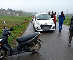 Nữ tài xế bị đâm chết trong ô tô, nghi phạm uống thuốc sâu tự tử