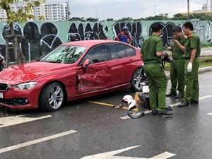 Ô tô mất lái đâm xe máy, nạn nhân tử vong tại chỗ