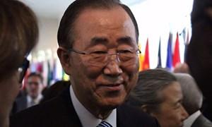 Ông Ban Ki-moon là ứng viên Tổng thống ưa thích thứ hai ở Hàn Quốc
