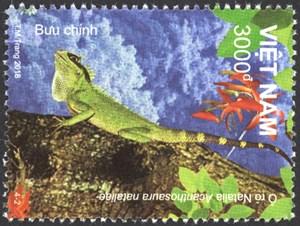 Phát hành bộ tem 'Động vật Vườn Quốc gia Kon Ka Kinh'