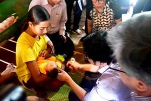 Phát hiện cháu bé mắc chứng đầu nhỏ nghi nhiễm virus Zika